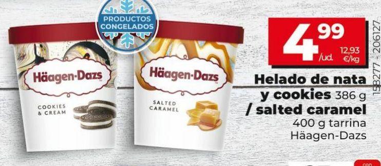 Oferta de Helados Häagen-Dazs por 4,99€