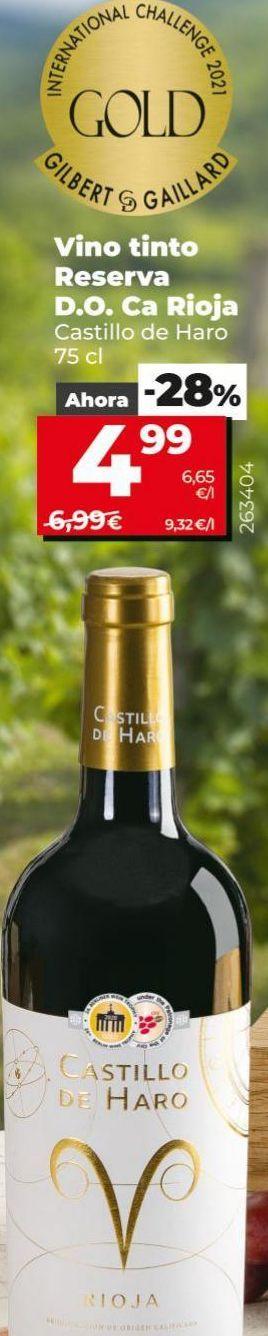 Oferta de Vino tinto por 4,99€
