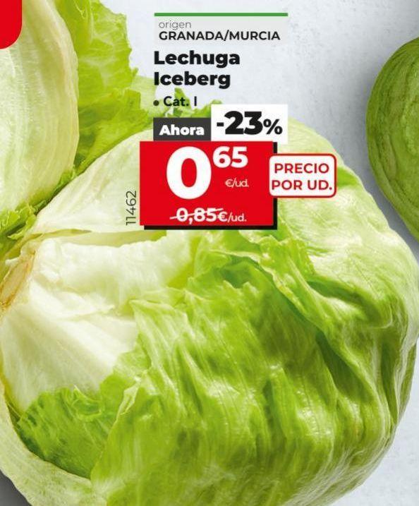 Oferta de Lechuga por 0,65€