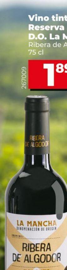 Oferta de Vino tinto por 1,85€