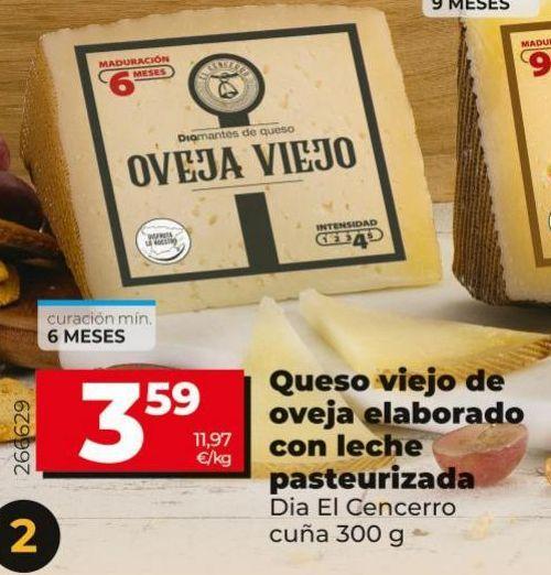 Oferta de Queso viejo por 3,49€