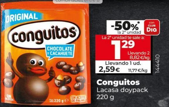 Oferta de Conguitos Lacasa por 2,39€
