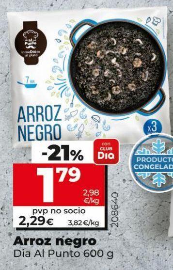 Oferta de Arroz negro por 1,79€