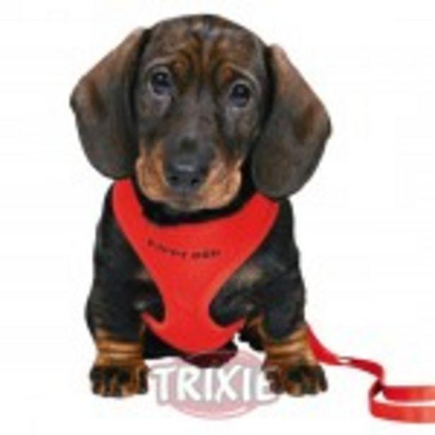 Oferta de TRIXIE Arnes para cachorros Rojo por 8,61€