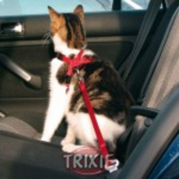 Oferta de TRIXIE Arnes Y Cinturon De Seguridad Gatos por 8,63€
