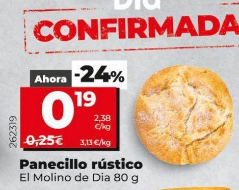 Oferta de Panecillos rustico  por 0,19€