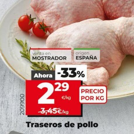 Oferta de Traseros de pollo por 2,29€