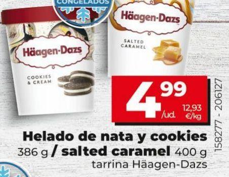 Oferta de Tarrina de helado Häagen-Dazs por 4,99€