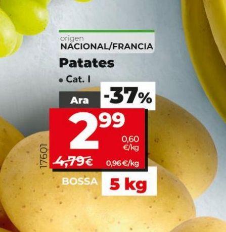 Oferta de Uvas blanca sin semilla  por 1,89€