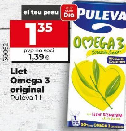 Oferta de Leche omega Puleva por 1,35€
