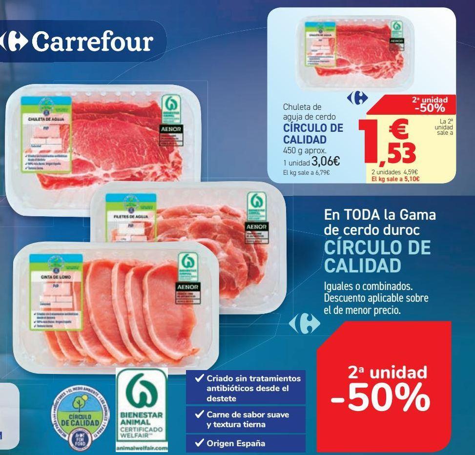 Oferta de En TODA la Gama de cerdo duroc CÍRCULO DE CALIDAD  por