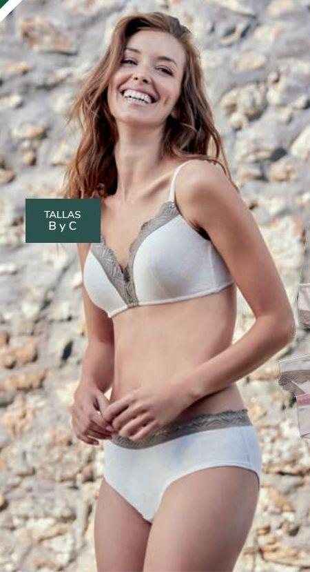 Oferta de Bikini y Shorty algodón de colorantes naturales Mujer TEX por 4,99€