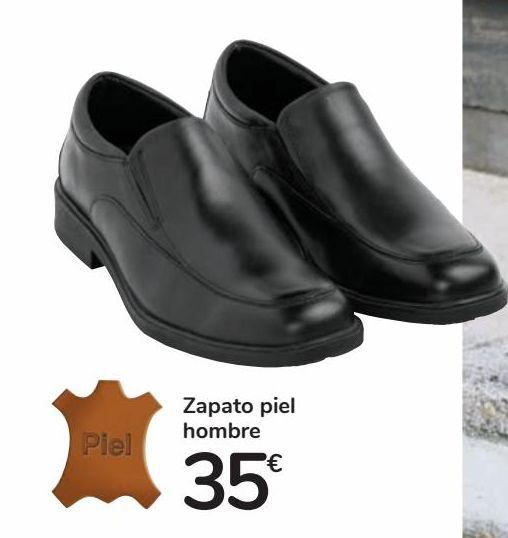 Oferta de Zapato piel hombre por 35€
