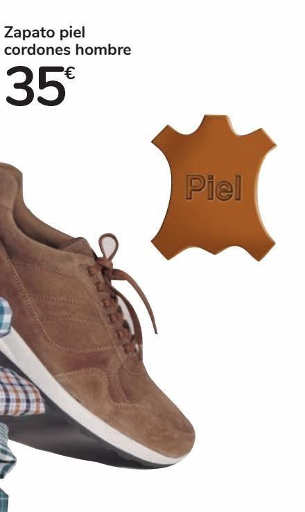 Oferta de Zapato piel cordones hombre por 35€