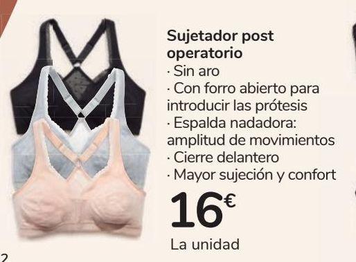 Oferta de Sujetador post operatorio por 16€