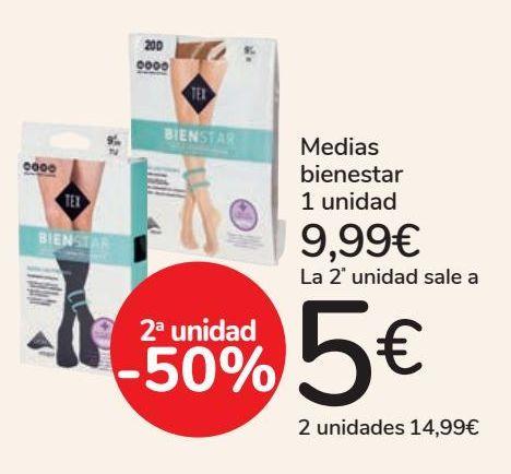 Oferta de Medias bienestar por 9,99€
