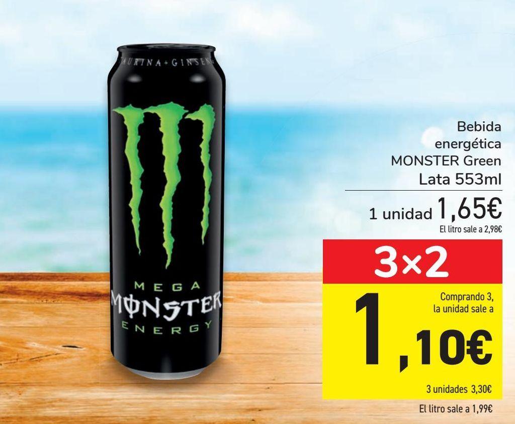 Oferta de Bebida energética MONSTER Green  por 1,65€