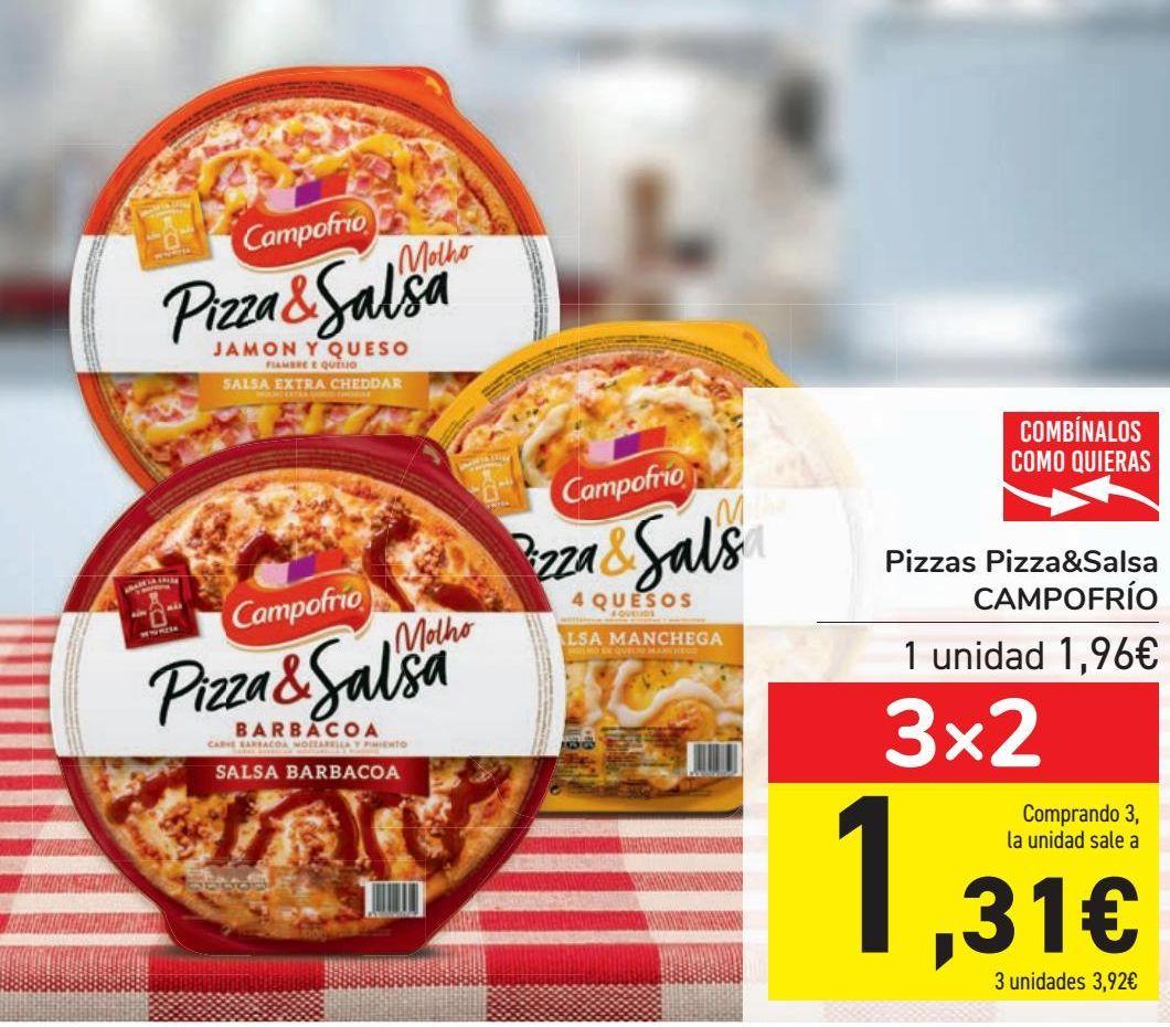 Oferta de Pizzas Pizza&Salsa CAMPOFRÍO  por 1,96€