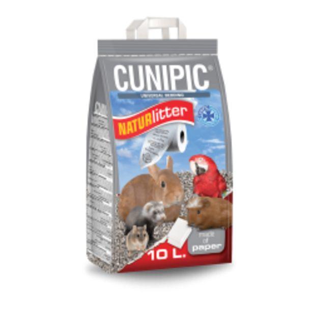 Oferta de Cunipic NATURLITTER Lecho Papel Reciclado para Jaulas por 25,16€