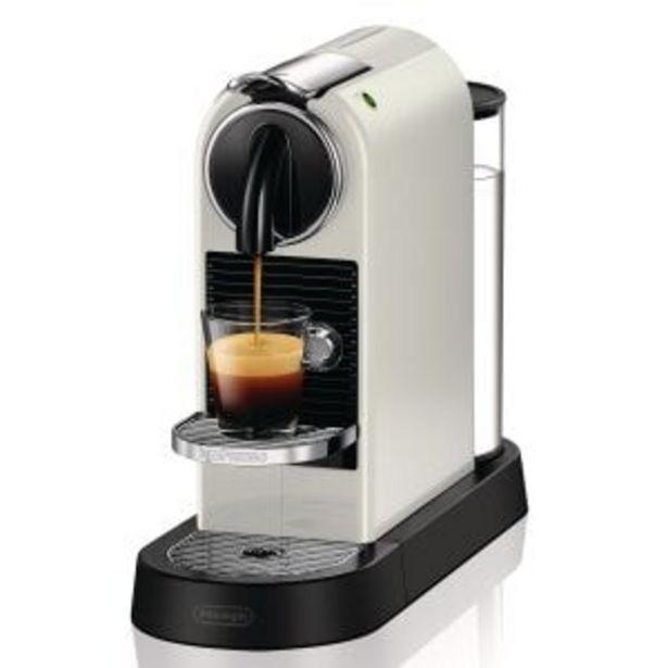 Oferta de EN167.W Cafeteras Nespresso Citiz por 139€