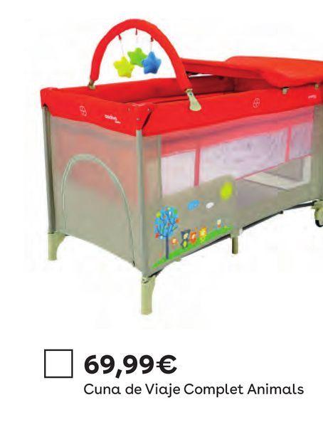 Oferta de Asalvo - Cuna de Viaje - Animals por 69,99€