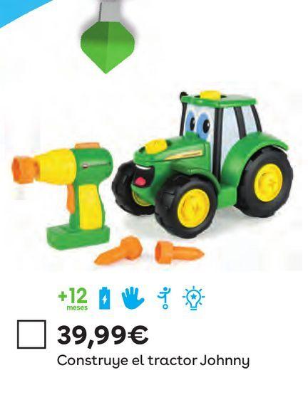 Oferta de Construye El Tractor Johnny por 39,99€