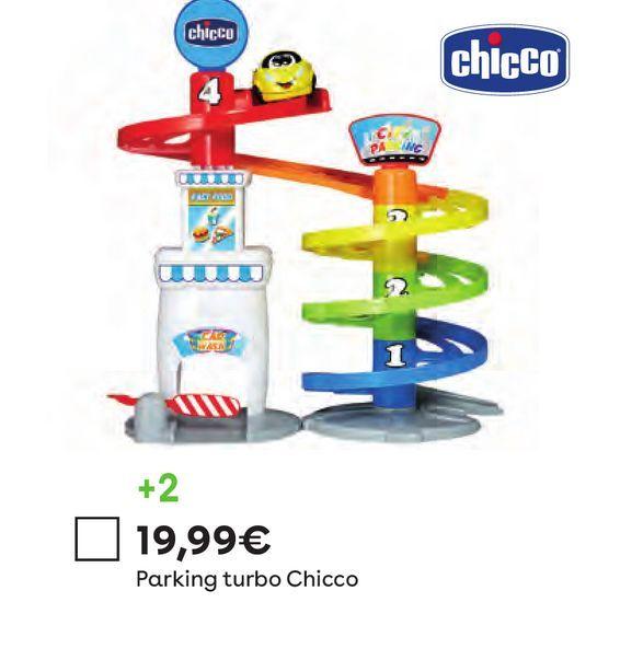 Oferta de Parking multinivel Turbo Ball Chicco por 19,99€