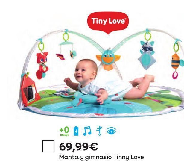 Oferta de Manta y gimnasio Tinny Love por 69,99€