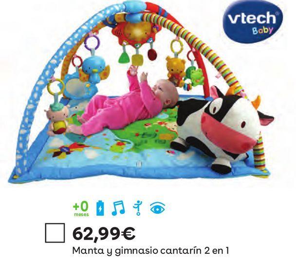 Oferta de Manta y gimnasio cantarin 2 en 1 por 62,99€