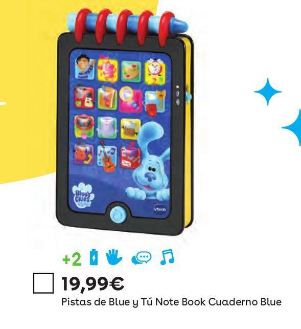 Oferta de Pistas de blue y tu note book cuaderno blue  por 19,99€