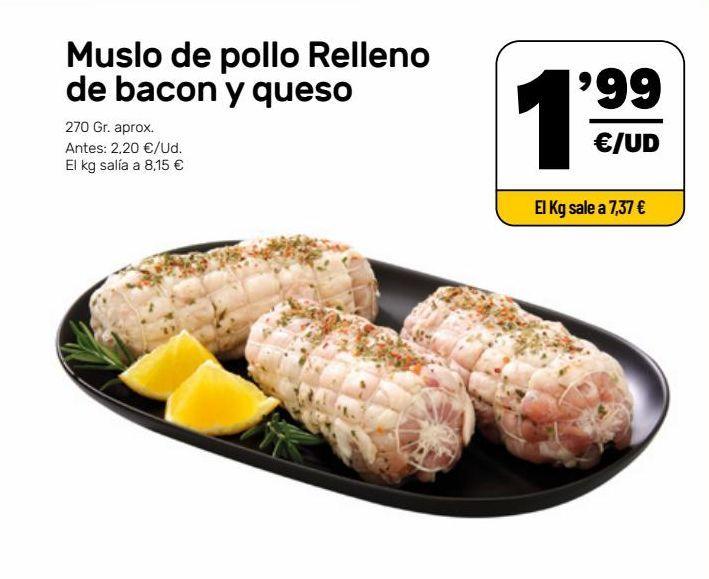 Oferta de Muslos de pollo por 1,99€