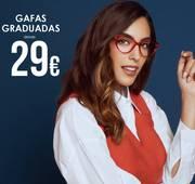 Oferta de Gafas graduadas desde 29€. por